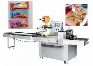 China Industrial Horizontal Pillow Packing Machine Fast Speed 35-225 Bag / Min on sale