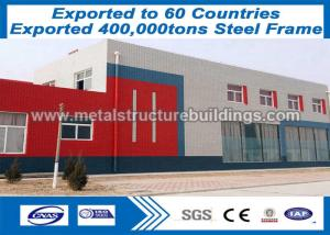 China ISO Prefab Steel Frame Material Formed Steel Framing Systems For Honduras Client on sale