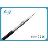 Tri Shield Digital Flexible Coaxial Cable For TV Foam Polyethylene Insulation