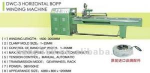 China Horizontal BOPP winding machine / Fishing Rod Equipment with winding plate on sale