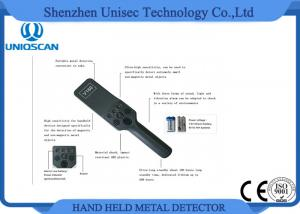 China 4 Levels High Sensitivity Portable Metal Detector , Super Scanner Handheld Metal Detector on sale
