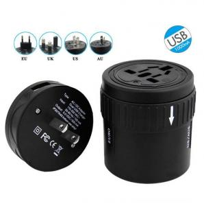 China All In One Extension USB Power Adapter Socket , Universal AC DC Power Switching Adapter on sale
