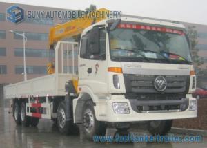 Straight Arm Foton 14 Ton Heavy Duty Crane Truck 8 X 4 Truck