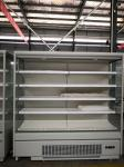 Built - in Compressor Mulitdeck Open Chiller for Beverage, Drinks And Fruits