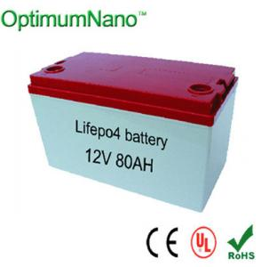 China Safe Environmental Led Lithium Battery 12v 80ah Battery Device on sale