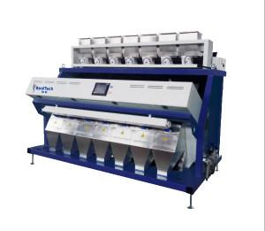 China 7 chutes multi-function color sorting machine, Cereal color sorter, Pure RGB color sorting machine on sale