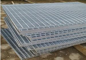 China 25 x 3mm Bearing Bar Galvanized Metal Grating For Environmental Projects on sale