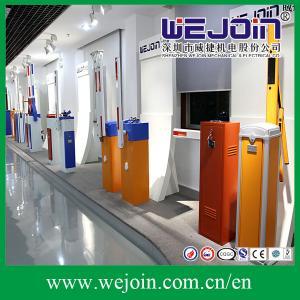 Long Arm Boom Parking Barrier Gate , Tubular Barrier Gates