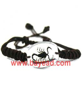 China real black scorpion bracelet jewelry,real scorpion jewelry on sale