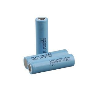 China genuine original rechargeable 3.7V 18650 Samsung 15M li-ion battery cells 1500mah Samsung INR18650-15MM battery on sale