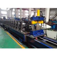 Cassette Type Rack Roll Forming Machine Heavy Duty Upright Racks Producing Use