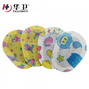 China free sample colorful medical dressing sterile eye pad on sale