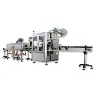 China Mineral Water PET Shrink Sleeve Labeling Machine For Round Bottle CE Certificate on sale