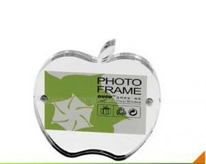 China Apple-shaped Acrylic Photo Frame ,Customied Acrylic Photo Frame on sale