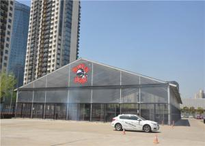 China Outdoor Advertising Pvc Event Tent  With Clear Windows Hard Pressed Extruded Aluminum on sale