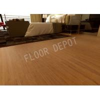 China Carb2 AC4 Embossed Kitchen Laminate Flooring , Luxury Laminate Flooring Walnut Color on sale