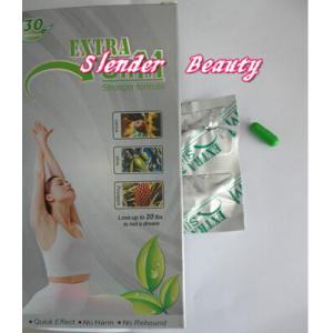 Quality La capsule de fines herbes de perte de poids de boîtier blanc mince supplémentaire empêchent la graisse de Redue d'obésité for sale