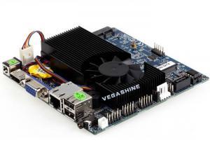 China Integrated Intel® 1037U Processor CPU Nano Motherboard with 2 Mini-PCIE slots on sale