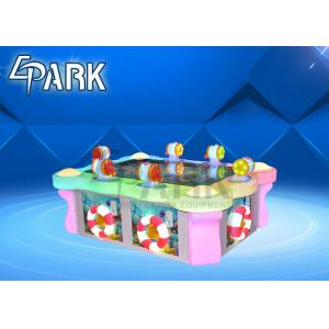 China 6 People Lovely Fish Game Machine , Arcade Redemption Games HD LCD Screen on sale