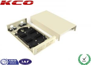 China 55dB ODF Metal FTTH Distribution Box / Optical Fiber Termination Box 24 Fibers on sale