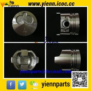 China Isuzu 3LB1 4LB1 Piston 8-97176-888-0 8-97176-612-0 with piston ring 8-97034-609-0 for SUMITOMO SH30JX excavators engine on sale