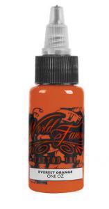 China Safe Orange Tattoo Ink / Non Toxic Tattoo Ink Set Professional on sale