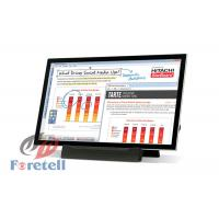 Free Standing Interactive Touch Screen Rackmount Lcd Monitor Remote Control