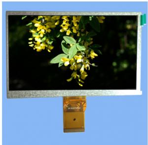 China High Resolution High Definition Super Performance 7.0 1024*600 40 Pins TFT LCD Display on sale