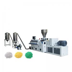 China Soft PVC Cable Pellets Plastic Granules Making Machine High Performance on sale