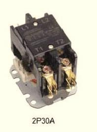 CJX9 air conditioner contactor 2P30A, AC contactor, HVAC/R