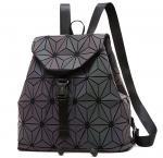 WHOLESALES Laser Geometric Backpack China Supplier Holographic Bag PU Leather Fashion Bag Design OEM Bag offer