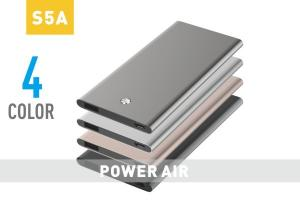 China Super Thin 5000mAh Portable Power Bank Li Polymer Battery , Rechargeable on sale