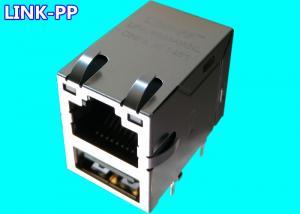 China Combo USB Rj45 LPJU3101AHNL 10 / 100Base-T USB-to-Ethernet Modules PC Mainboard on sale