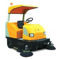 ride-on street sweeper