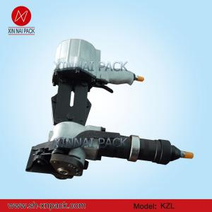 China Máquina que ata con correa de acero del PDA neumático KZLS-32/25/19 on sale