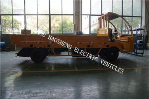 China 4.5kw Motor Power Electric Platform Truck 3t Load With Flexible Steering on sale
