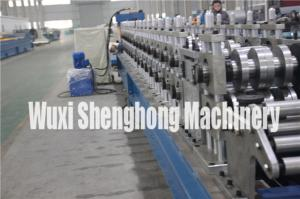 China Hurricane Doors / Smoke Doors Roll Forming Machine Gcr15 No Noise on sale