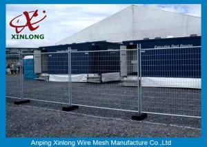China Los paneles de cercado temporales verdes flexibles/la valla de seguridad temporal artesona el artículo on sale