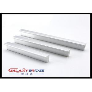 China Brushed Nickel Aluminum Profile Handle Kitchen Cabinet Pulls Oxidized Aluminum Profile Pulls on sale