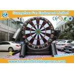 Single Dart Board Commercial Inflatable Football Games For Kids 4mH