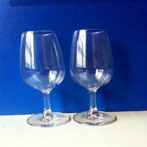 China supply 220ml/530ml plastic wine glasses on sale