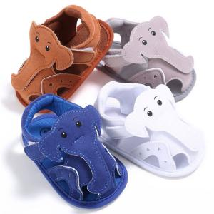China New designed Sandals Animal Elephant soft-sole Outdoor Toddler baby shoes for Boy and Girl on sale