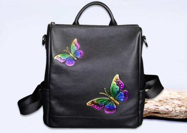 dac6b23afc1e Fashion Institute Ladies Leather Backpack For Women