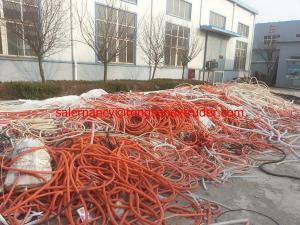 China extrusion en plastique et machine ondulée de moulage de tuyau de pe on sale