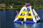 China Durable outdoor inflatable water parks , Inflatable Water Catapult Blob wholesale