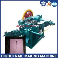 "China Z94-2c 1.5 "" Common Iron Nail Making Machine with High Speed"