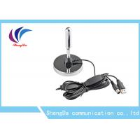 HD UHF VHF TV Antenna , Portable External Digital TV AerialSignal Booster Stainless Steel