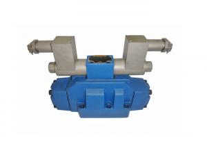China Electro - Hydraulic Control Valve , Hydraulic Directional Valve In Blue Color on sale