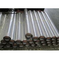 China Polypropylene Or Aluminium Foil Self Adhesive Bitumen Tape Waterproof Membrane Black Or Sliver Color on sale