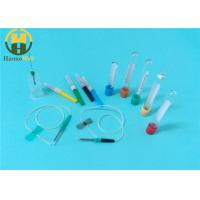 Medical disposable blood collection system collection tube and needle